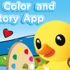 Łap okazję: PaddleDuck Color and Story App.
